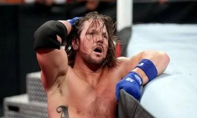 WWE Star AJ Styles cry
