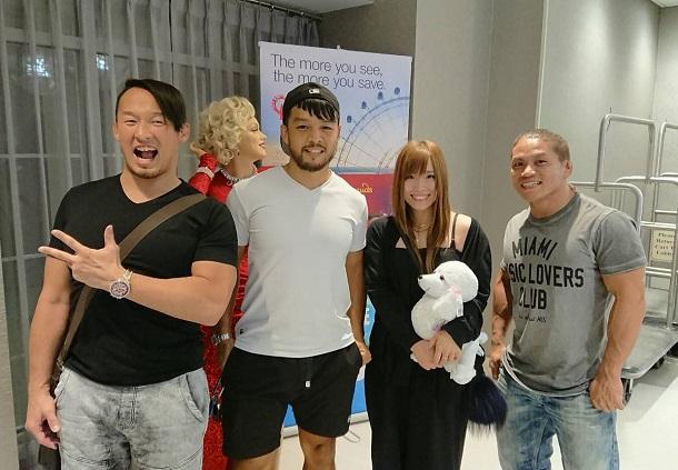 HIDEO ITAMI and Kairi Sane