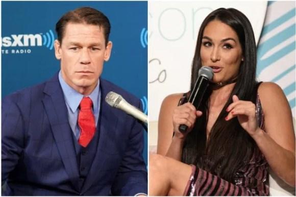 Nikki Bella and John Cena after breakup