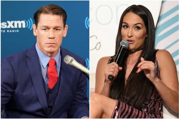 Nikki Bella and John Cena after breakup