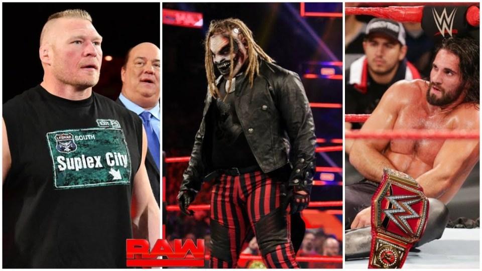 Seth Rollins, Brock Lesnar, The Fiend