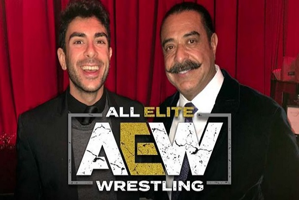 Shahid Khan and Tony Kha AEW Owner and Founder