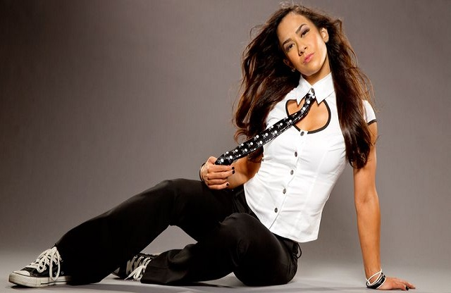 AJ Lee had a run as the General Manager