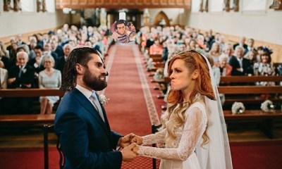 Becky Lynch and Seth Rollins wedding
