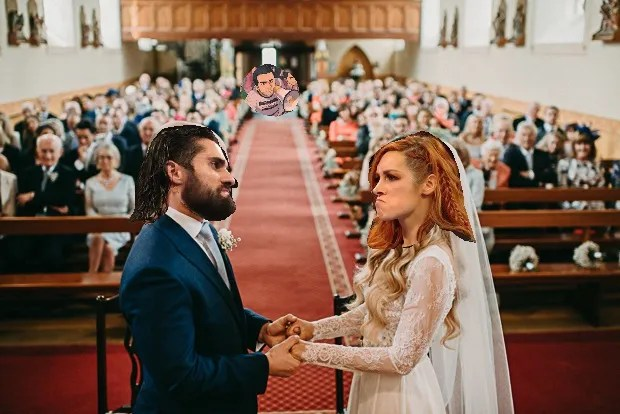 Becky Lynch and Seth Rollins wedding