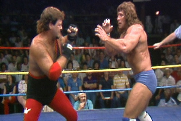 Kerry Von Erich Vs Jerry Lawler In WCCW 1988