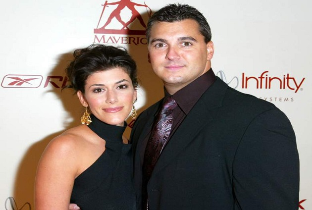 Marissa Mazzola and Shane McMahon married