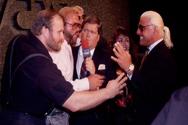 Ole Anderson was a founding member of the influential stable The Four