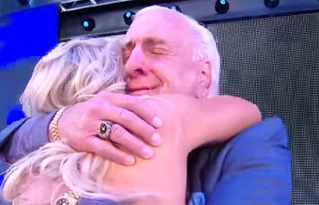 Ric Flair Shares Embrace With Daughter Charlotte