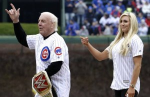 Ric Flair and daughter Charlotte