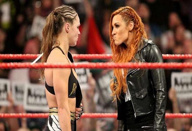Ronda Rousey vs Becky Lynch