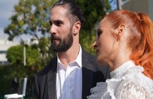 Seth Rollins and Becky Lynch wedding