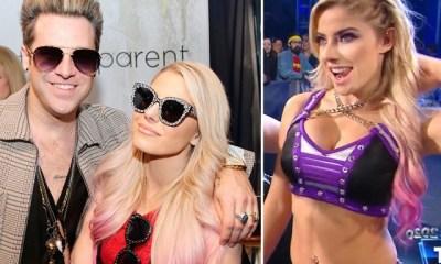 WWE Alexa Bliss dating singer Ryan Cabrera