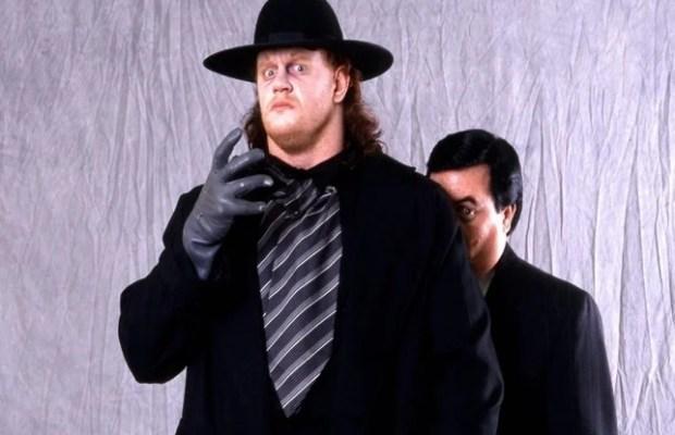 WWE Legend The Undertaker as a young wrestler