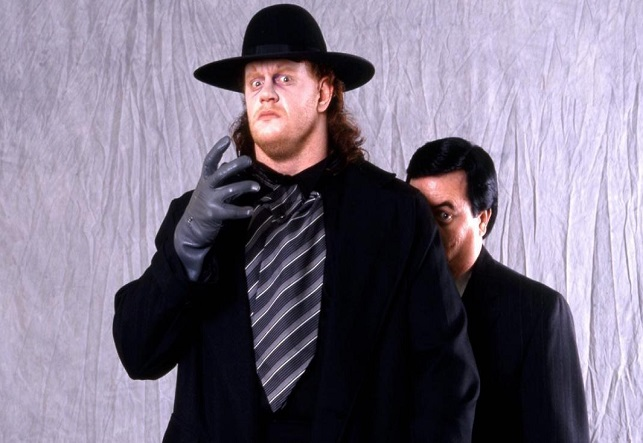 WWE Legend The Undertaker as a young wrestler