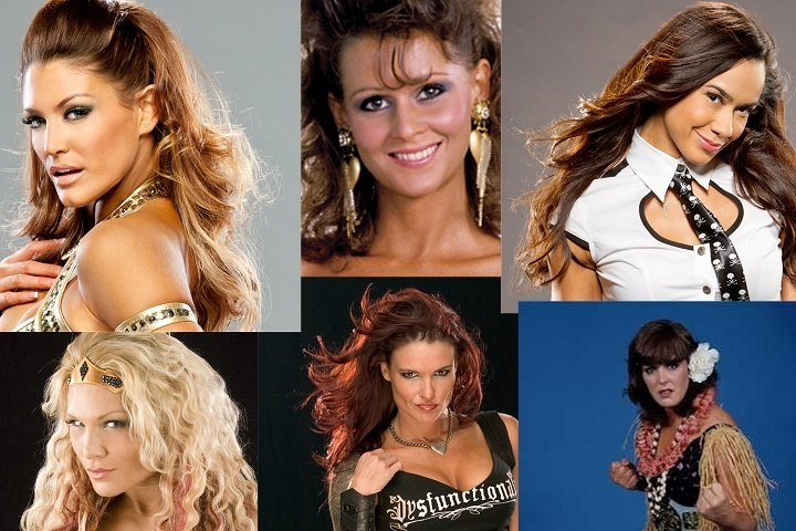 Wwe Divas From The 90s era