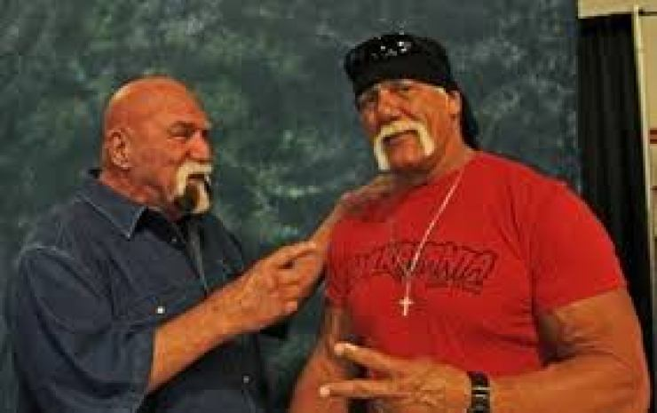 Billy Graham and Hulk Hogan