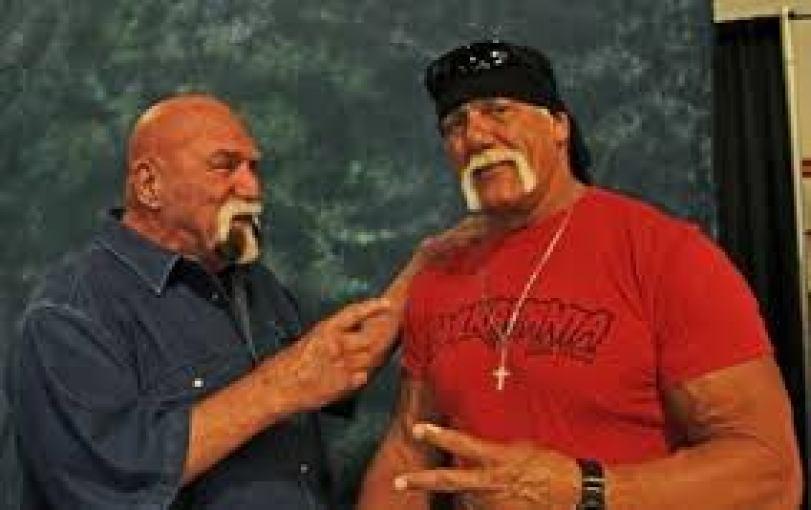 Billy Graham and Hulk Hogan