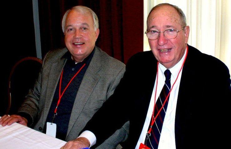Bob Caudle and David Crockett