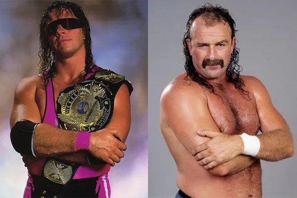 Jake Roberts and bret hart