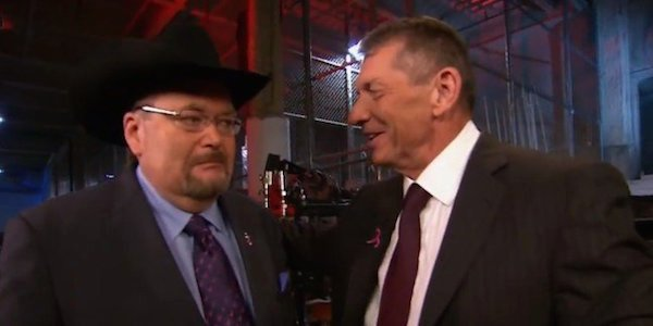 Jim Ross And Vince Mcmahon talk