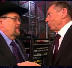 Jim Ross and Vince Mcmahon