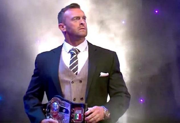 NWA World Heavyweight Champion Nick Aldis