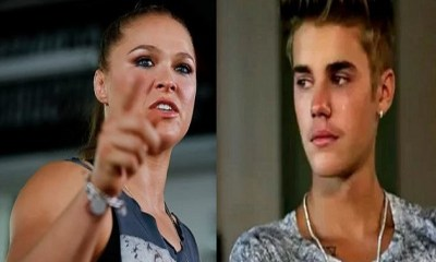 Ronda Rousey Blasts Pop Star Justin Bieber For Messing With Her Sister See What She Told Him ...