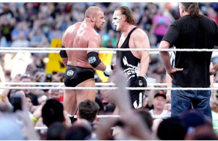 Sting and Triple H