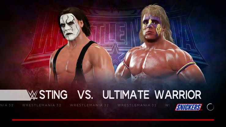 Sting and Ultimate Warrior