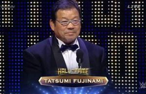 Tatsumi Fujinami hall of famer