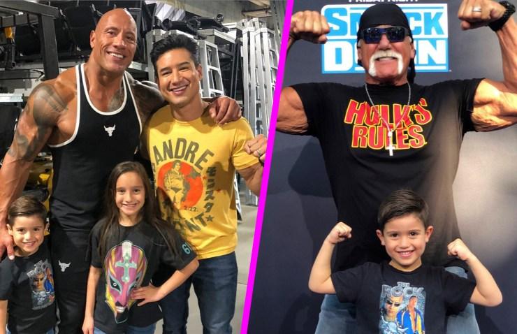 The Rock vs Hulk Hogan