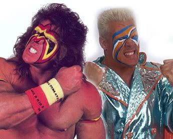 The Ultimate Warrior and Sting