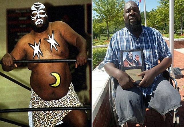 Wrestler Kamala the Ugandan Giant