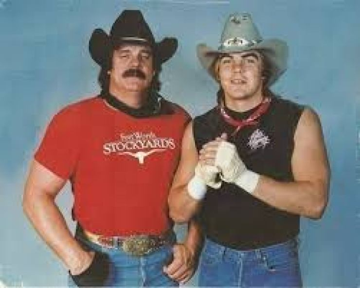 Barry Windham and friend