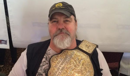 Barry Windham with belt