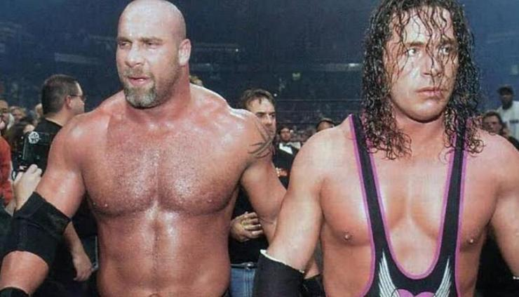 Bret Hart and Bill Goldberg