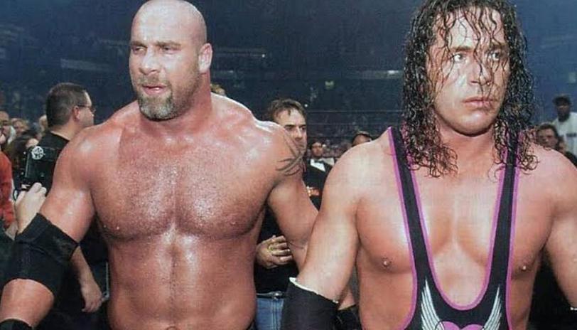 Bret Hart and Bill Goldberg