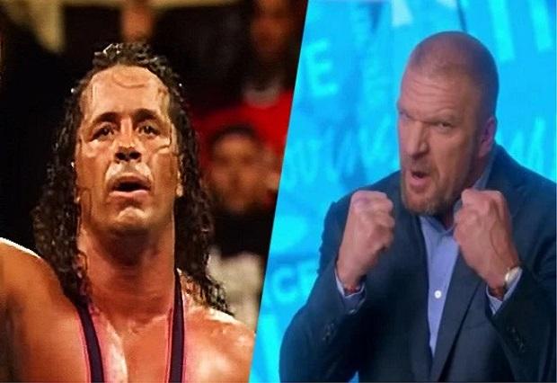Bret Hart criticizes Triple H