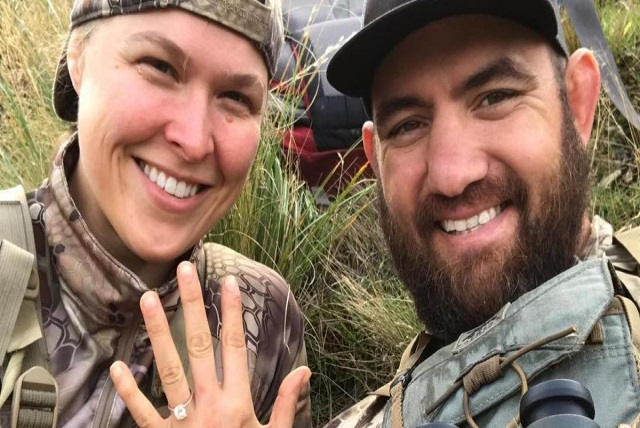 Ronda Rousey and Travis Browne Got Married