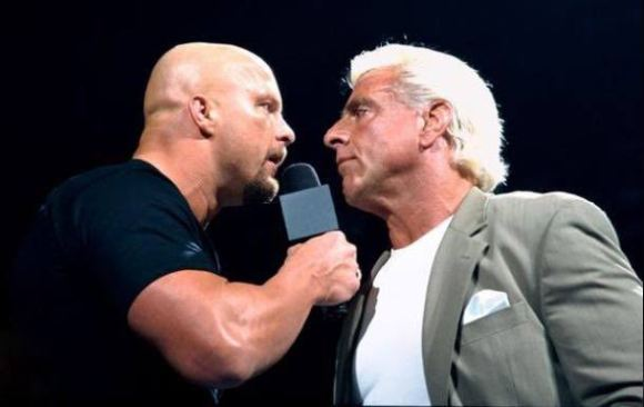 Steve Austin, Stone Cold and Ric Flair