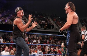 Sting and Hulk Hogan fight