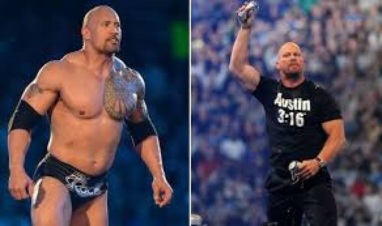Stone Cold and The Rock