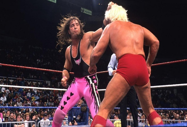 Bret Hart and Ric Flair