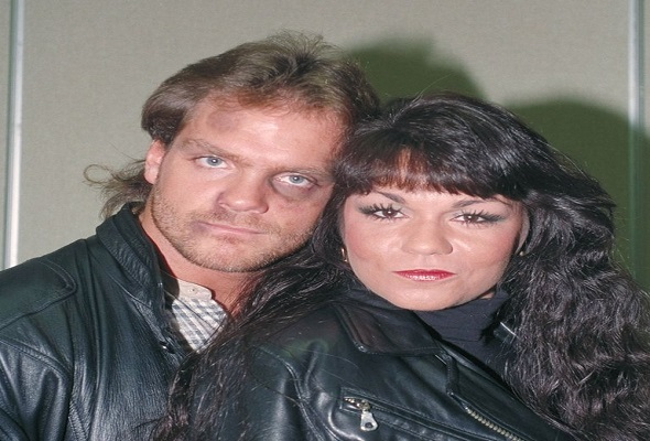 Chris Benoit and His wife