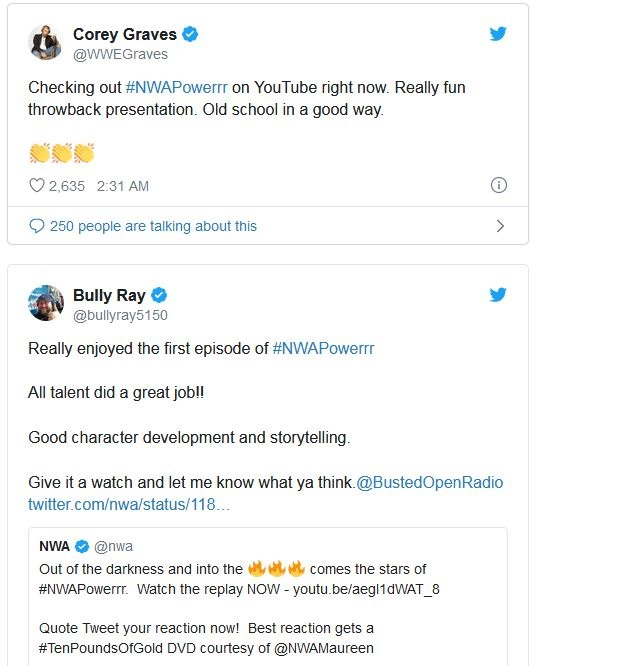 Corey Graves NWA