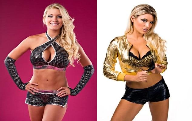 Lacey Von Erich TNA Woman wrestler