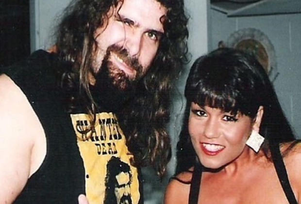 Mick Foley and Nancy Benoit, Chris Benoit wife