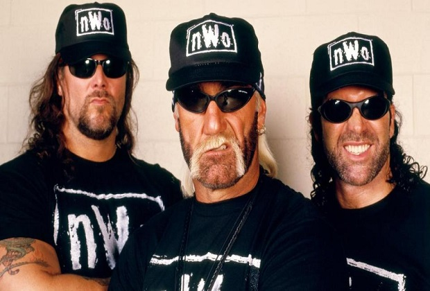 The NWO originally featured Kevin Nash, Hulk Hogan and Scott Hall and were formed when Hulk Hogan left WWE and joined and moved to rivals WCW