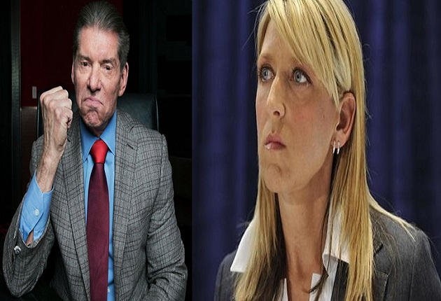 Vince McMahon and Martha Hart